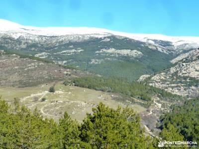 La Camorza-La Pedriza; madrid singles gr 86 charca verde la pedriza rutas en madrid